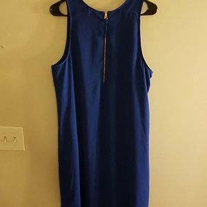 Apt 9 blue sleeveless dress size XL